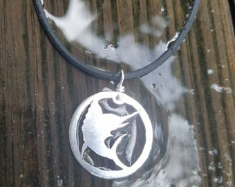 Marlin silhouette Necklace