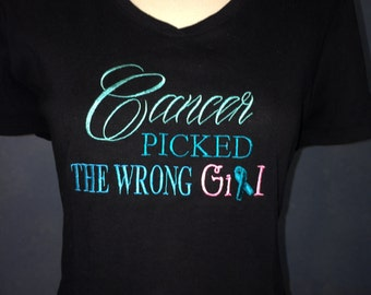 Ladies Cancer T-shirt