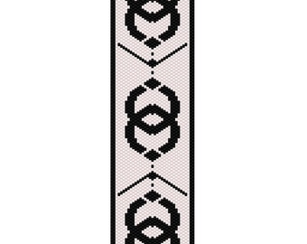 Arrowhead Peyote Cuff Bracelet Pattern