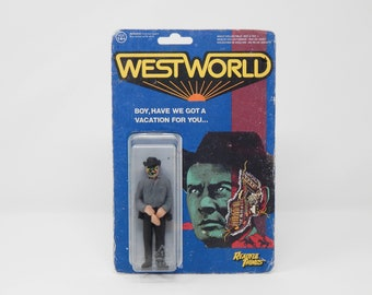 Westworld - Gunslinger - Yul Brynner - 1973 - ScFi - OOAK - One of a Kind Action Figure Toy Custom - Cult Movie