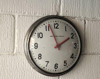 STRELA USSR Soviet Era Factory Clocks Circa 1960's