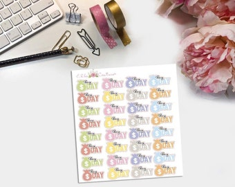 Pay Day Planner Stickers by EllaCouturebyJessica