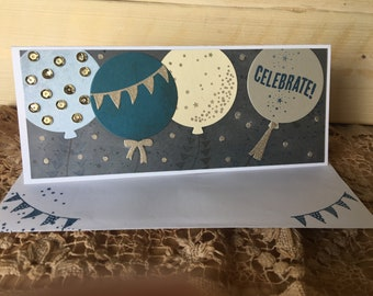 Celebration Card, Handmade card