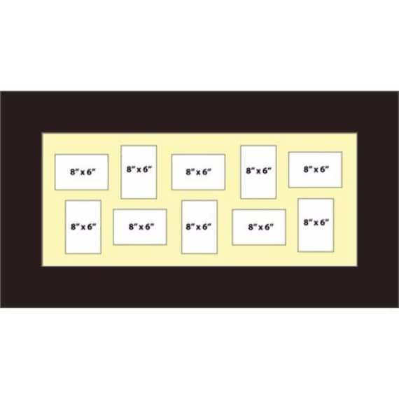 Multi Aperture Picture Frames Fits 12 8\