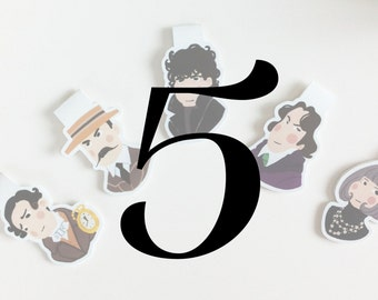 Your Own Set of 5 Bookmarks
