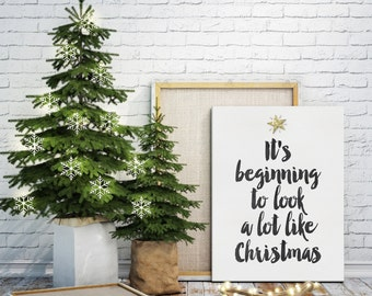Instant Download Christmas Decor - Quote Digital Print - Christmas Print Gift Idea - Holiday Wall Art - Christmas Printable - Xmas Decor