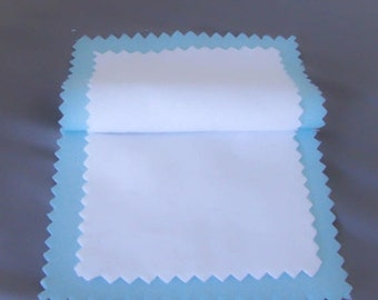 Jewelry Polishing Cleaning Blue Cloth Multi-Layer, Sterling Silver,  Made in USA, Blitz