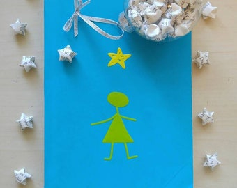 Stargirl Origami Star Ornament