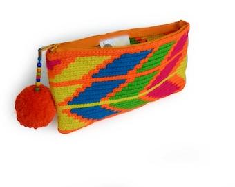 Handbag / Clutch Bag / Pencil Bag / Cosmetic Bag / Makeup Bag / Toiletry Storage / Clutch / Gift for Girls /Bridesmaid Bag Gift /Clutch Bag