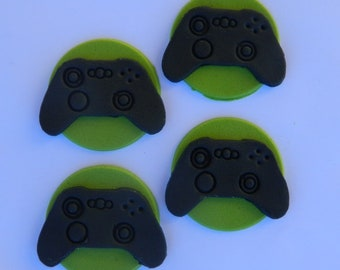 12 edible XBOX CONTROLLER cupcake topper game cake decoration topper gumpaste sugarcraft birthday wedding anniversary engagement