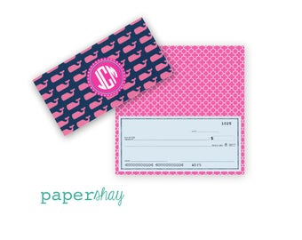 Checkbook Cover, Monogrammed Checkbook Cover, Personalized Checkbook Cover, Custom Checkbook Cover, Vinyl Checkbook Cover