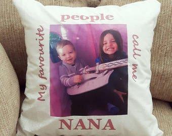 Custom Photo & Quote Pillow