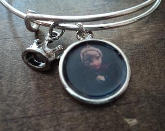 Elsa bangle charm bracelet