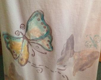Blue Fish Long Butterfly Skirt