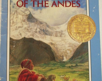 Secret of the Andes by Ann Nolan, a Newbery Award Book, 1980