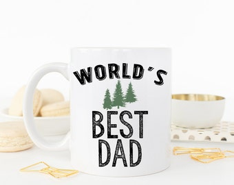 Worlds Best Dad, Worlds best dad mug, Dad Mug, Gifts for Dad, Dad Coffee Mug, Dad Gift, Coffee Mug, Best Dad Ever, Best Dad Ever Mug,