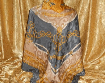 Genuine vintage Basile big scarf - all silk