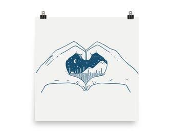 Love Nature - Art print