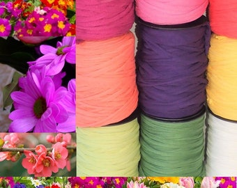 Coil spring FilOmlel flowers individually-