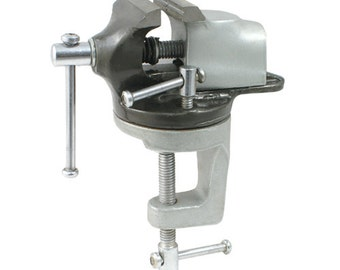 """Revolving Bench Vise Clamp  - 2"""" Jaws - 12-202"""