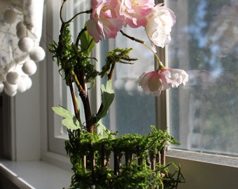 Fairy Crib ~ Blossom Fairy Bed, Fairy Crib by Olive* Fairy Included~