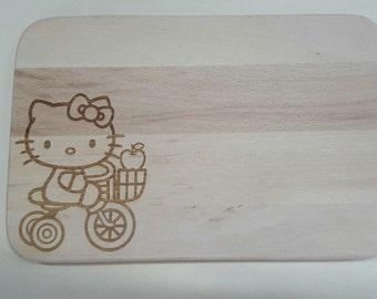 Wooden board, snack, breakfast Board, Woodenboard