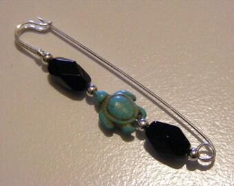 Turtle Brooch Pin..........Lot 3134