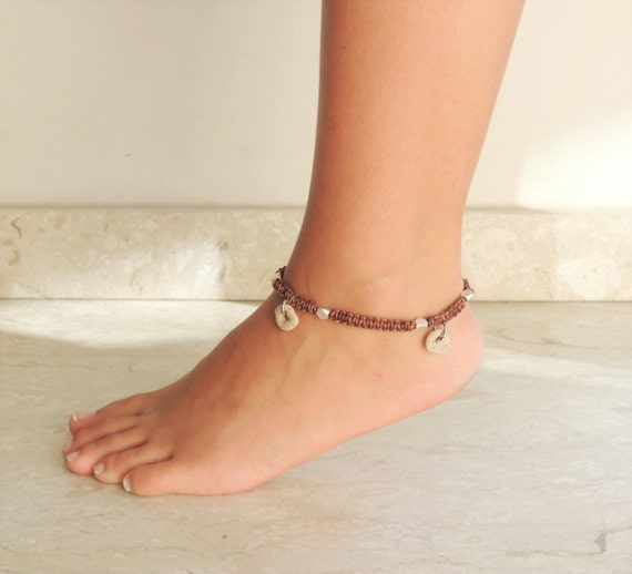 gold beads bracelet ankle anklet chain beach silver foot women boho for itm womens sterling