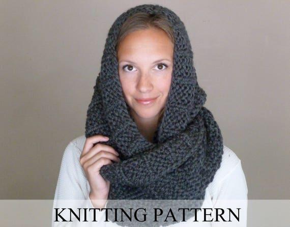 Knitting Pattern The Celebrity Scarf Knit Infinity Scarf Pattern