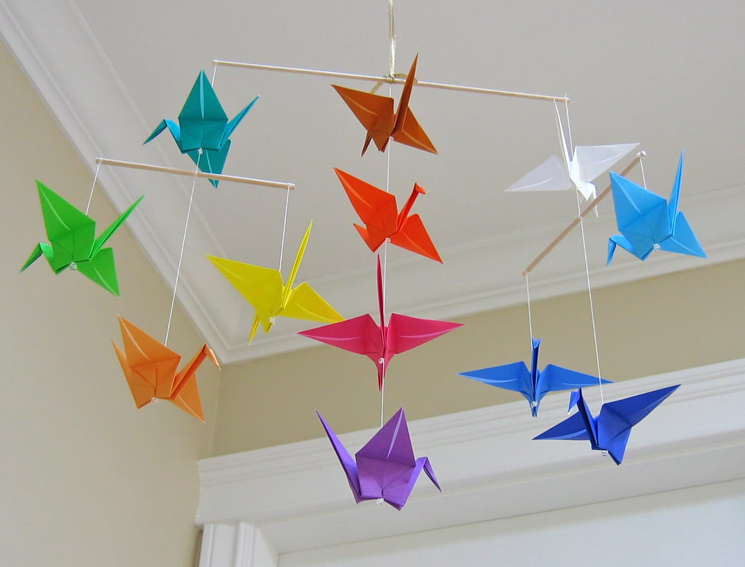 Origami Room Decoration