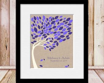 Alternative Wedding Guest Book, Wedding Signature Tree, Guest Book Wedding Tree, Guestbook Signature Tree, 100 Guest Signature Tree
