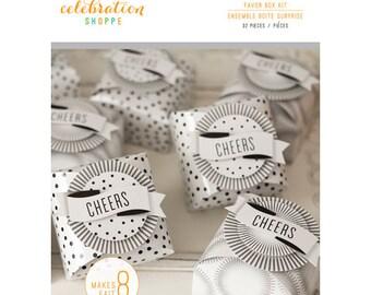 Pop Fizz Clink Party Favor Box Kit by Kim Byers Celebration Shoppe