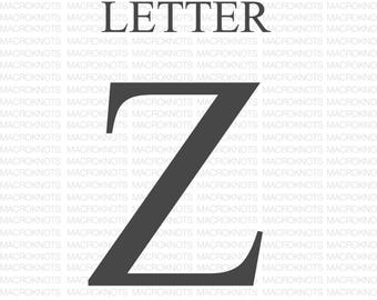 Macrame Letter Z