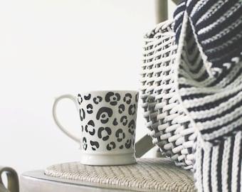 Leopard Print Pattern Mug