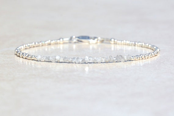 au il gift diamond genuine listing graduation bracelet raw