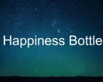 Happiness Spell Bottle - Spell in a Bottle for a Good Moon