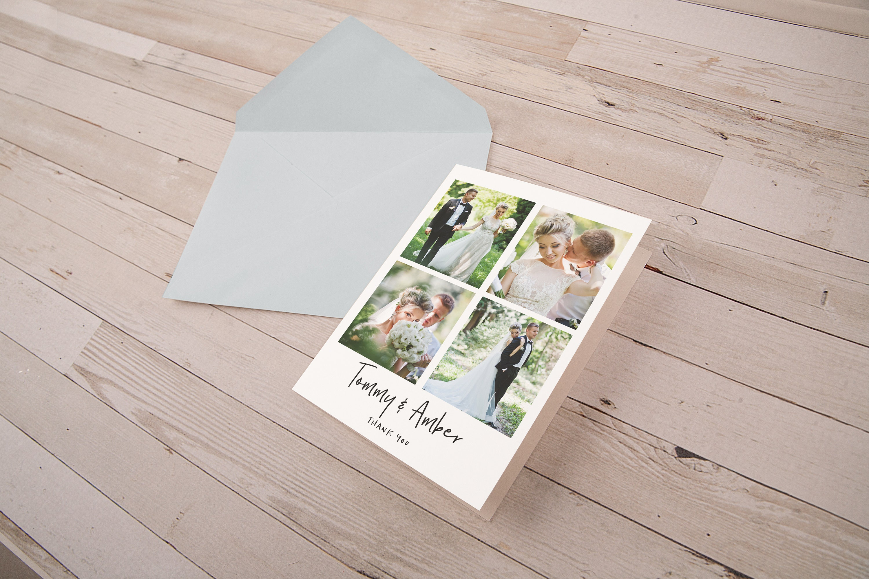 Personalized folded note cards with envelopes blank note card set personalized folded note cards with envelopes blank note card set thank you note cards wedding thank you notes shower greeting cards kristyandbryce Images
