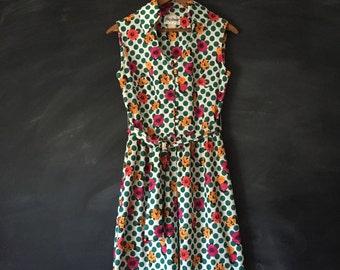 Vintage Yves Jennet 60's Mod Dress size 10