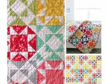 Endless Summer quilt pattern from V and Co