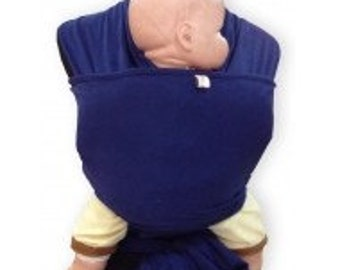 Palm and Pond Wrap Sling Baby Carrier - Navy