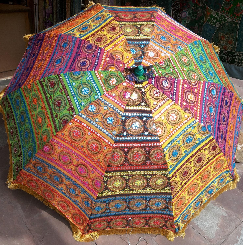 Garden umbrella big size beach umbrella with colourful zoom junglespirit Images