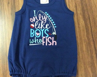 Cute girly Fishing Bubble.  A must have for any little fishing buddy.
