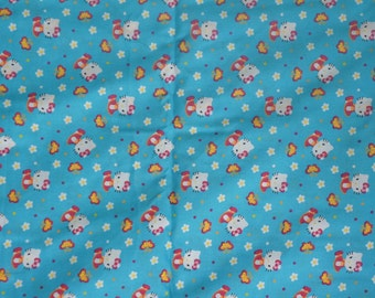 Weighted Lap Pad Made with Cotton Hello Kitty Fabric and choice of backing