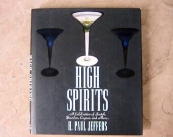 Cocktail Recipe Book, High Spirits by H Paul Jeffers, 1997 Spirits Book