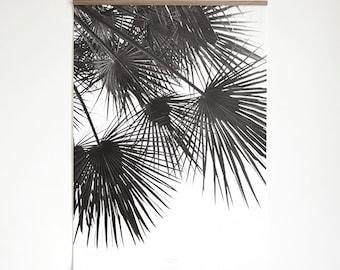 Artprint inkl. magnetischer Posterleiste A4, Click - On - Frame, Rahmen, Holzrahmen