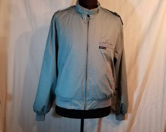 Vintage 46 men's Members Only jacket, light blue