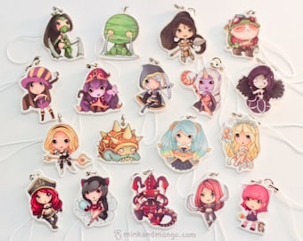League of Legends Charms