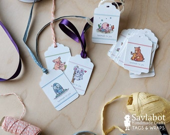 tags for handmade items, tags, labels, labels for handmade items, knit, crochet, tags for blankets, quilt labels