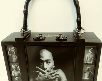 TUPAC Cigar Box Purse