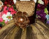 Lace Flower Girl Dress wi...